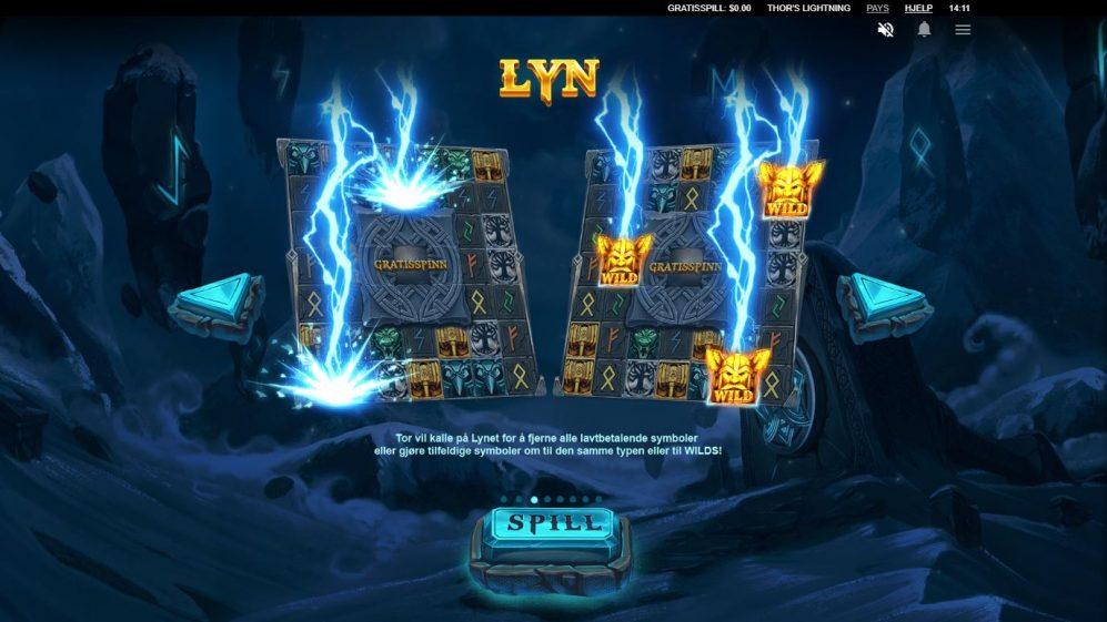 Thor's ligthninh - lyn