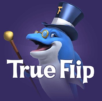 True Flip casino logo CSN