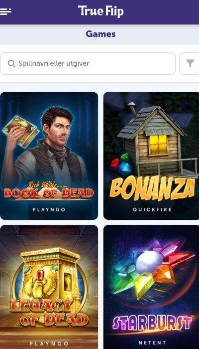 TrueFlip casino casinospill 1