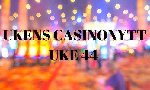 UKENS CASINONYTT UKE 44 logo