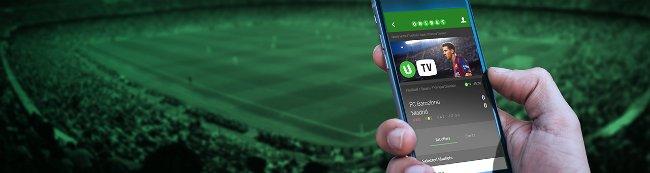 Spill odds på mobil.