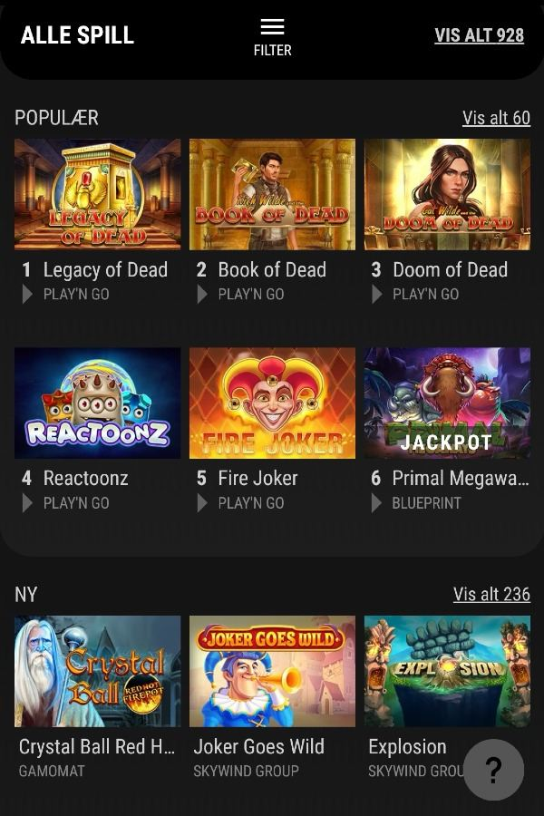 VIPs casino spill (2)