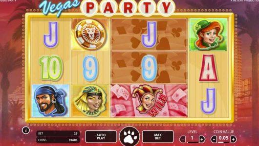 Vegas Party automat