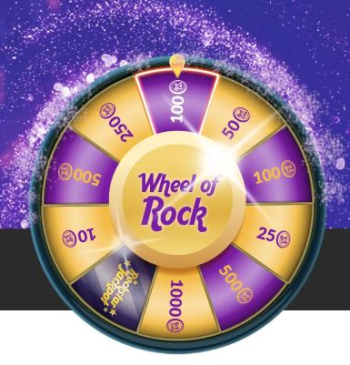 WHEEL OF ROCK