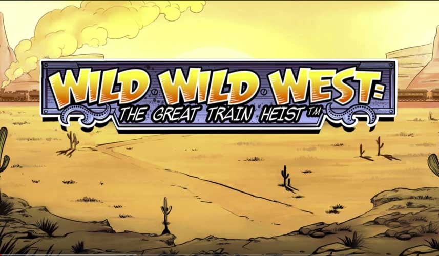 Wild Wild West The Great Train Heist automat
