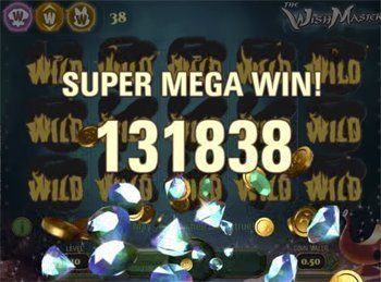 Wish Master super mega win