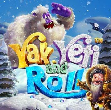 Yak Yeti and Roll logo