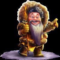 Yak Yeti and roll character 2