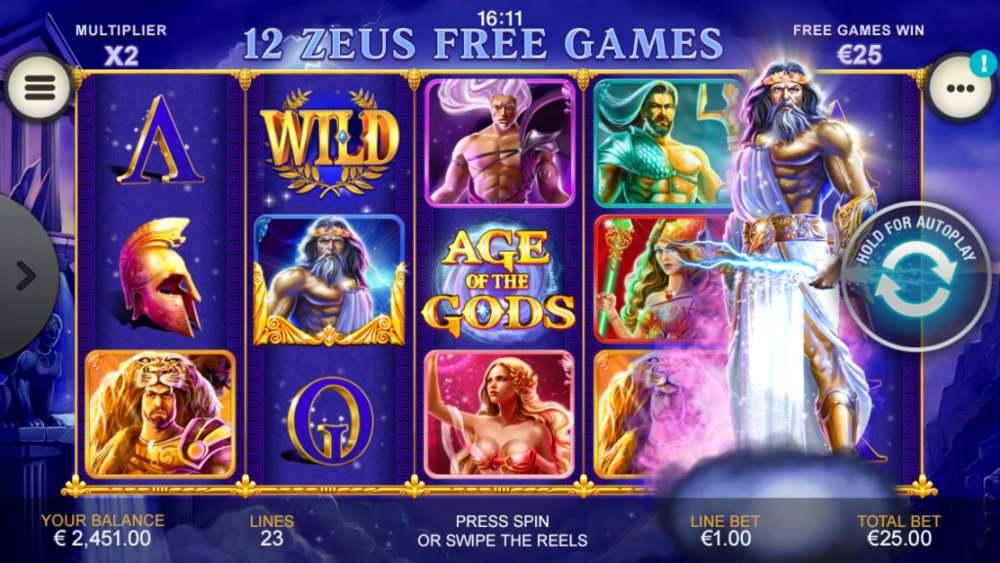 age of the gods bonus