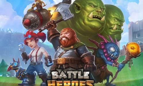 battle heroes logo