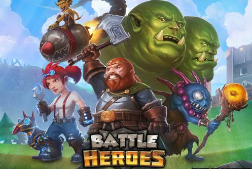 battle heroes logo
