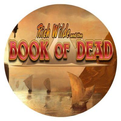 book of dead - rundt bilde.