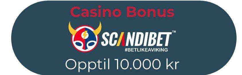 casinobonus scandibet