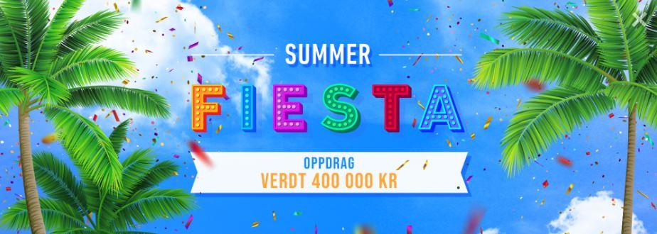 casinonytt summer fiesta
