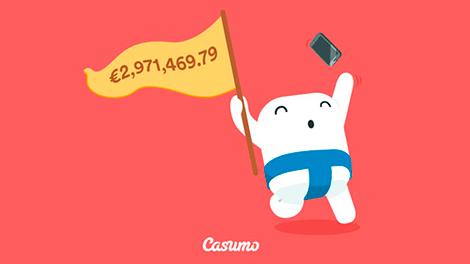 Casumo har en ny Mega Fortune jackpot vinn