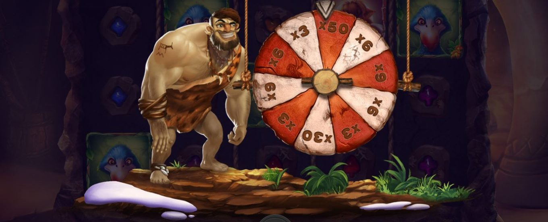 caveman bob lykkehjul