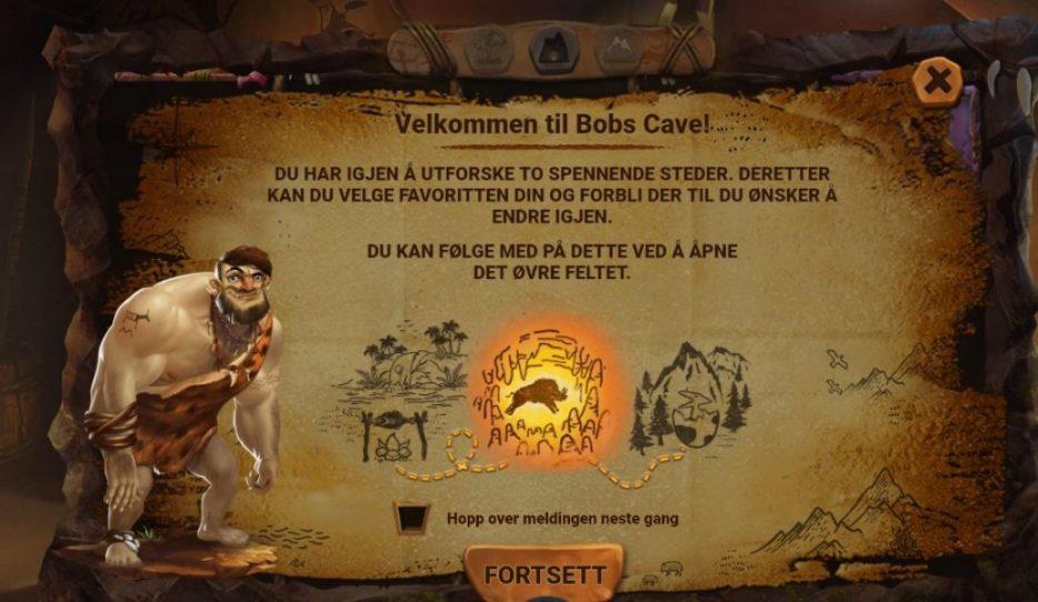caveman bob velkommen