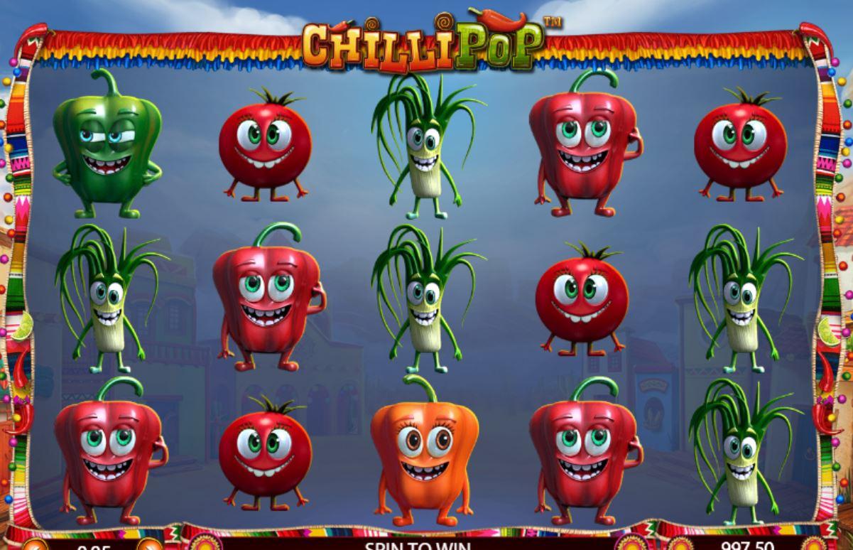 Chillipop automat