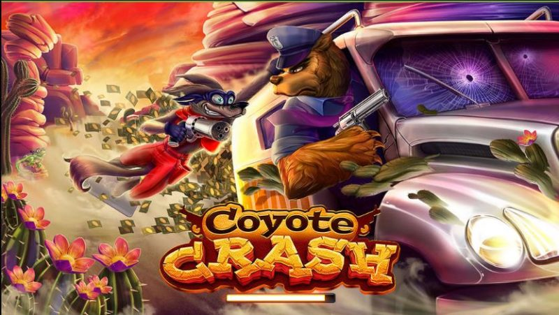 coyote crash front