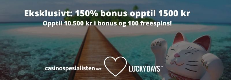 csn luckydays bonus