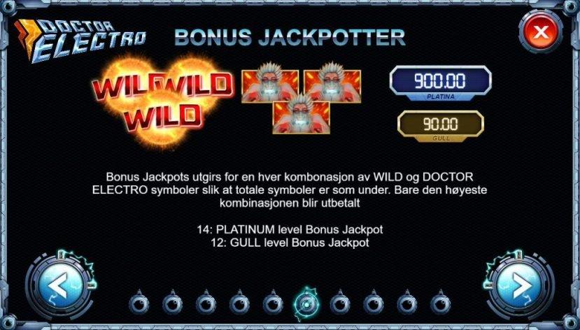doctor electro bonus jackpoter