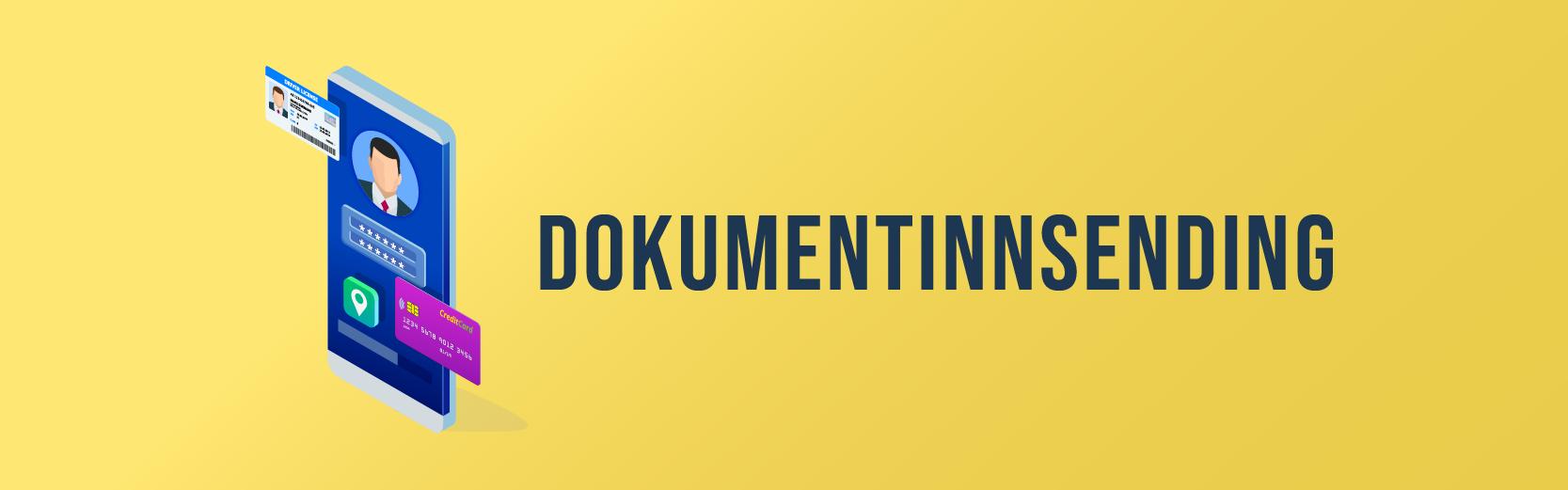 dokumentinnsending casino