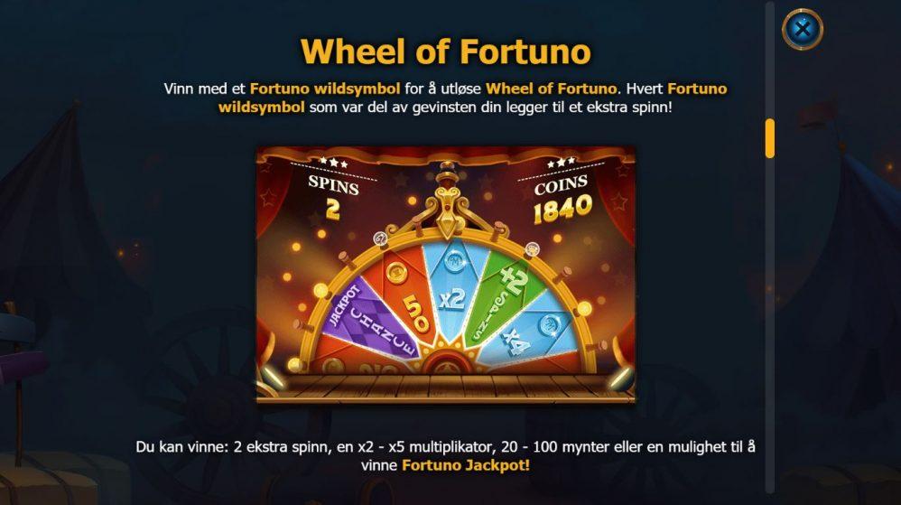 dr fortuno - wheel of fortuno