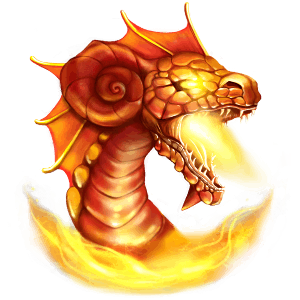 drage flamme dragon island