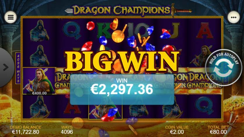 dragon champions gevinst