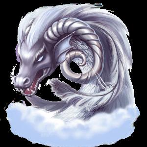 dragon island drage sølv