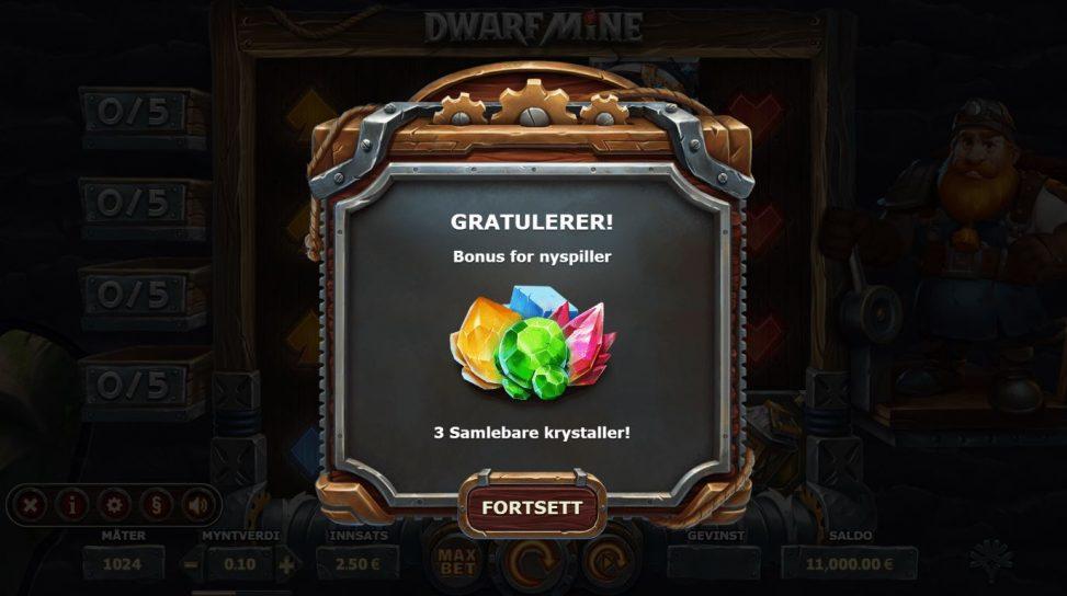 dwarf mine - bonus