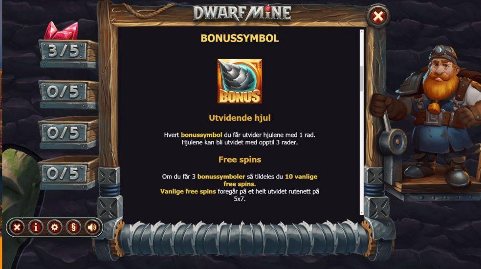 dwarf mine - bonussymbol