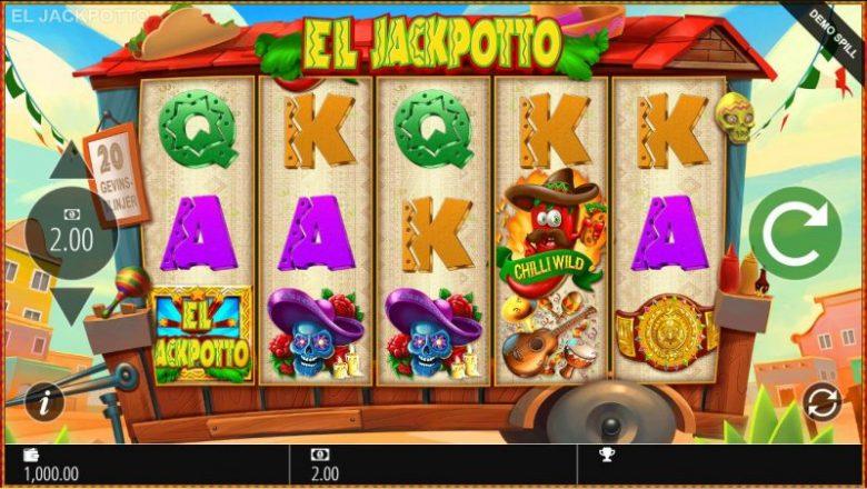 el jackpotto spilleautomat