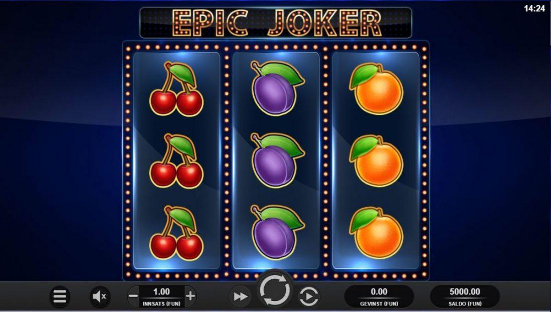 epic joker spilleautomat