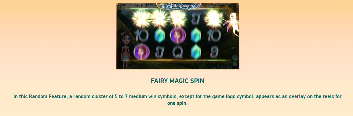 fairytail legends - fairy magic spin