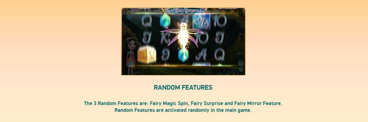 fairytail legends - mirror mirror random features