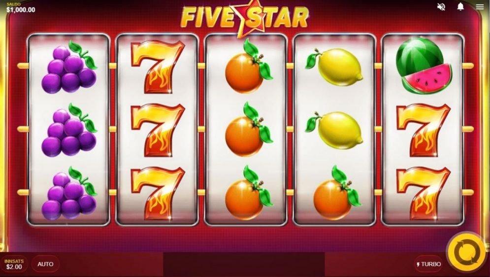 five star - spilleautomaten