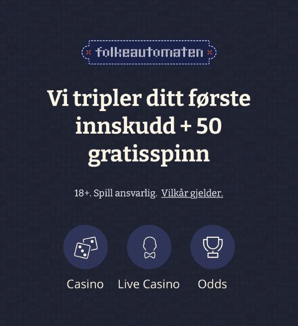 folkeautomaten casinobonus