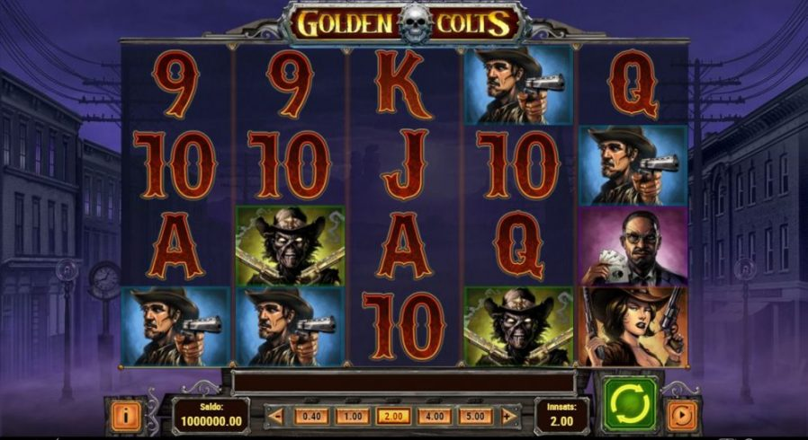 golden colts - print screen