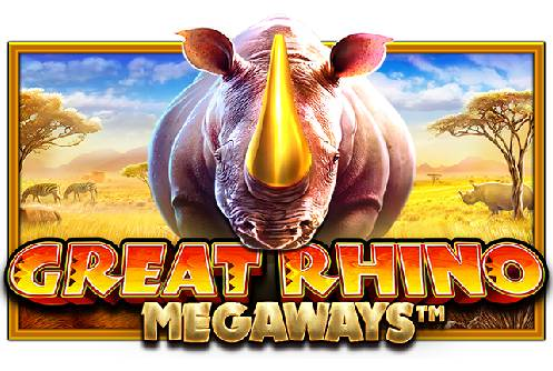 great rhino megaways logo