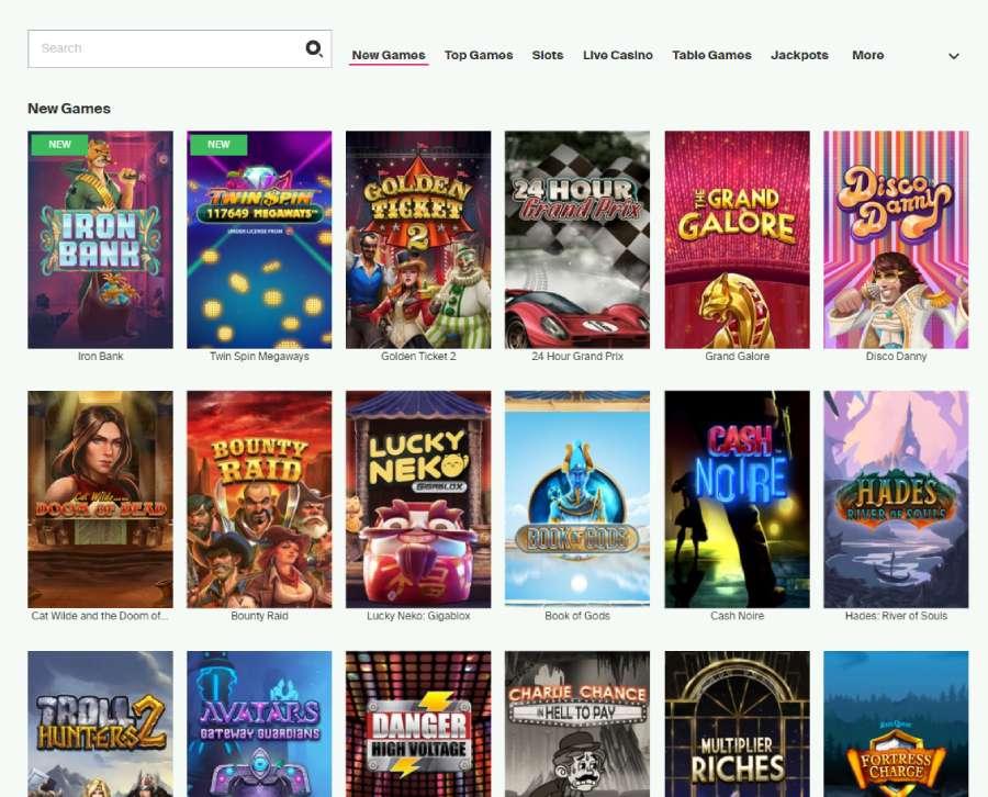 highroller casino spilleautomater