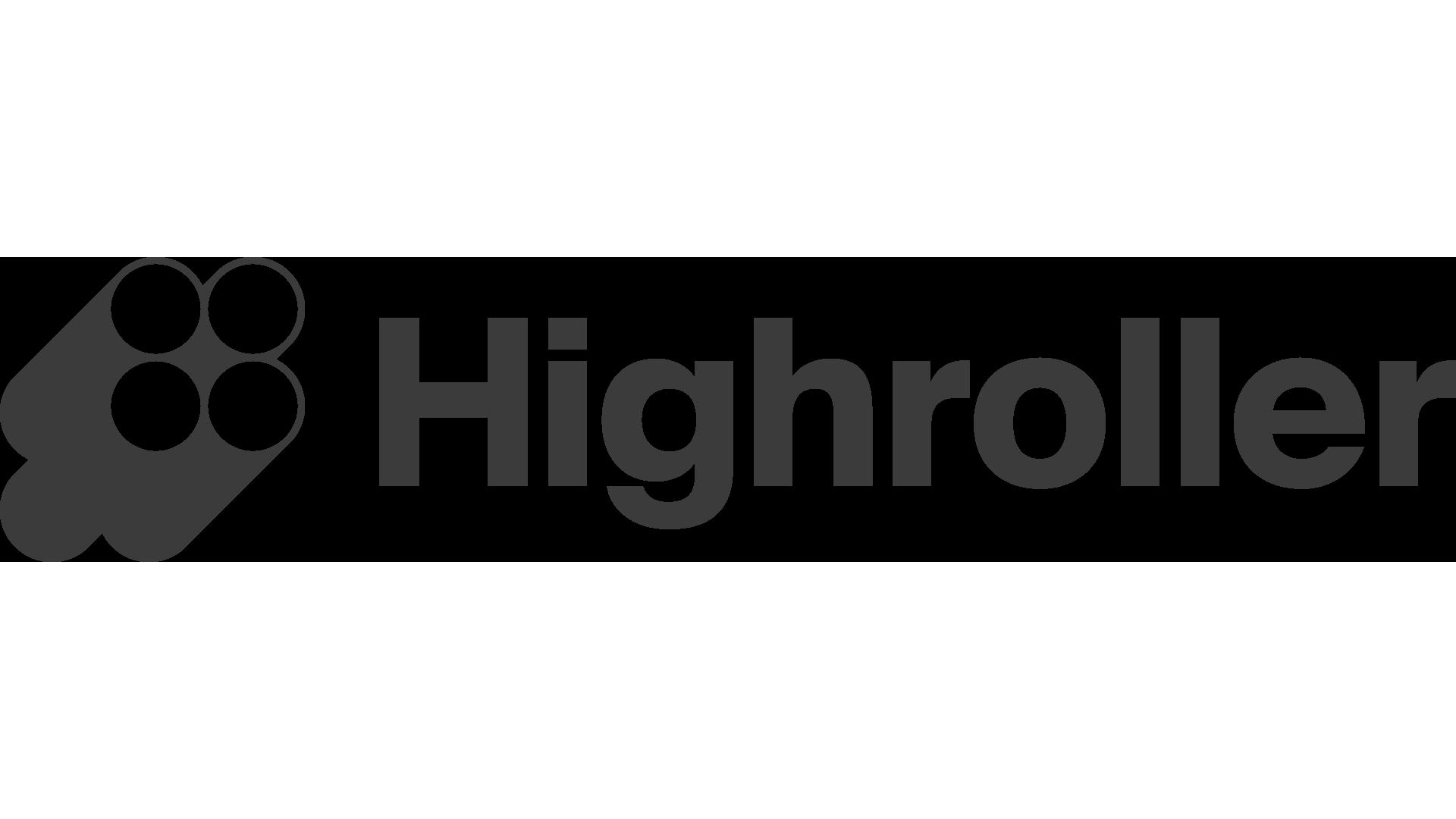 highroller logo transparent