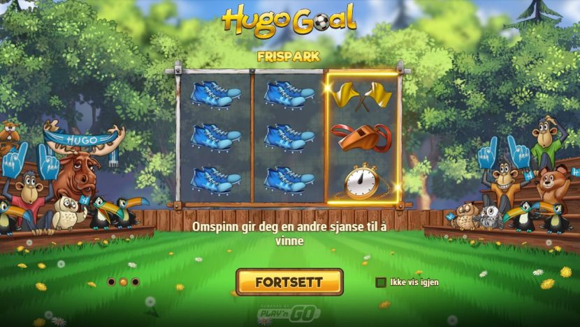 hugo goal frispark