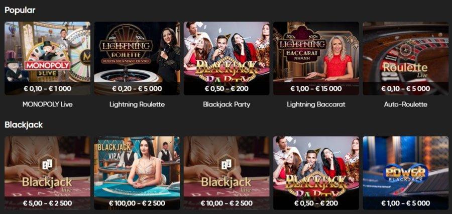 iBet Live Casino