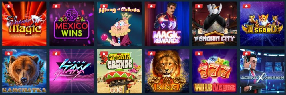 ilucki casino populære spill