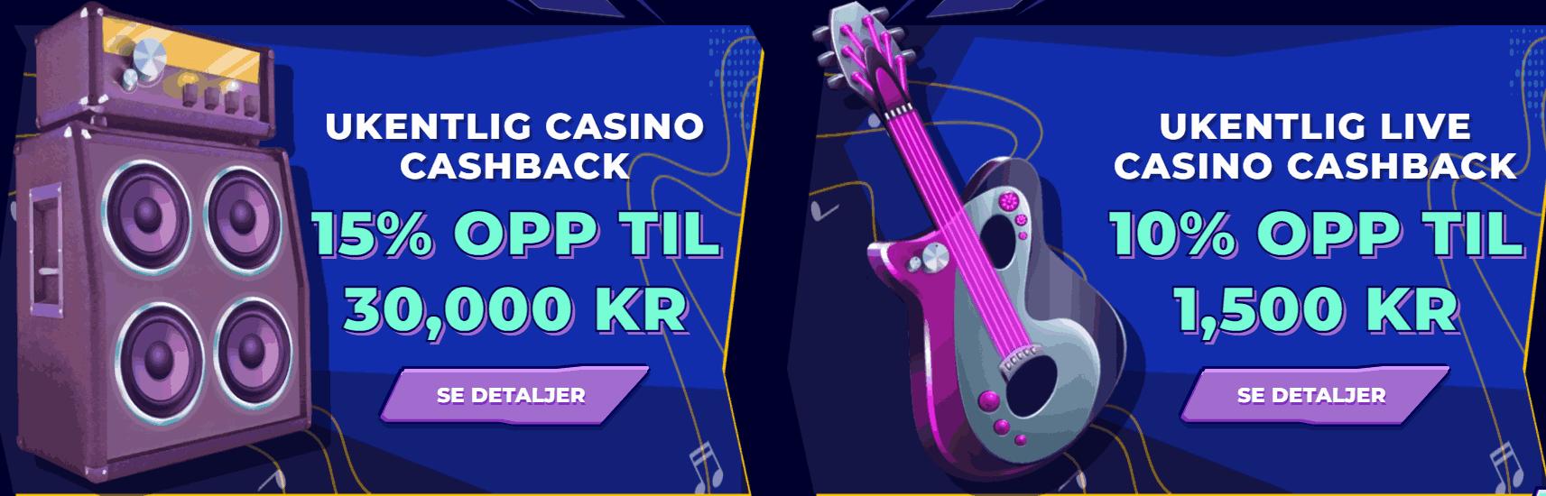 Boka casino bonus kampanje