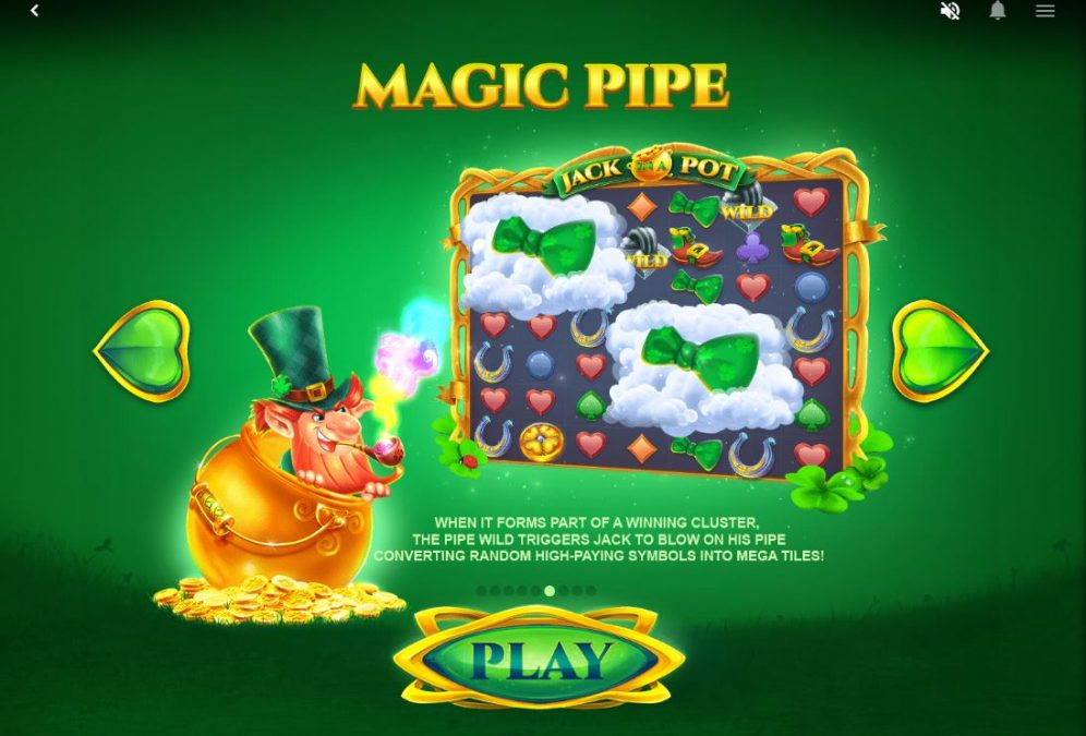 jack in a pot - magic pipe