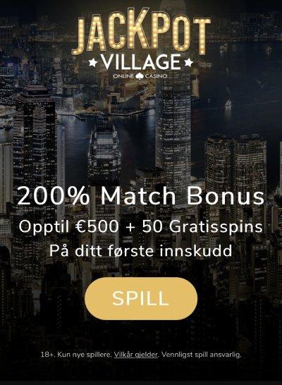 jackpot village bonus
