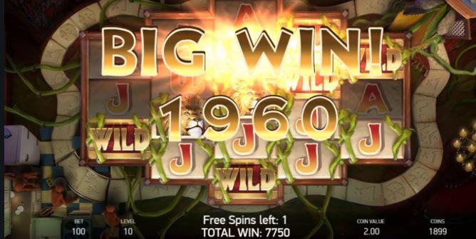jumanji - big win
