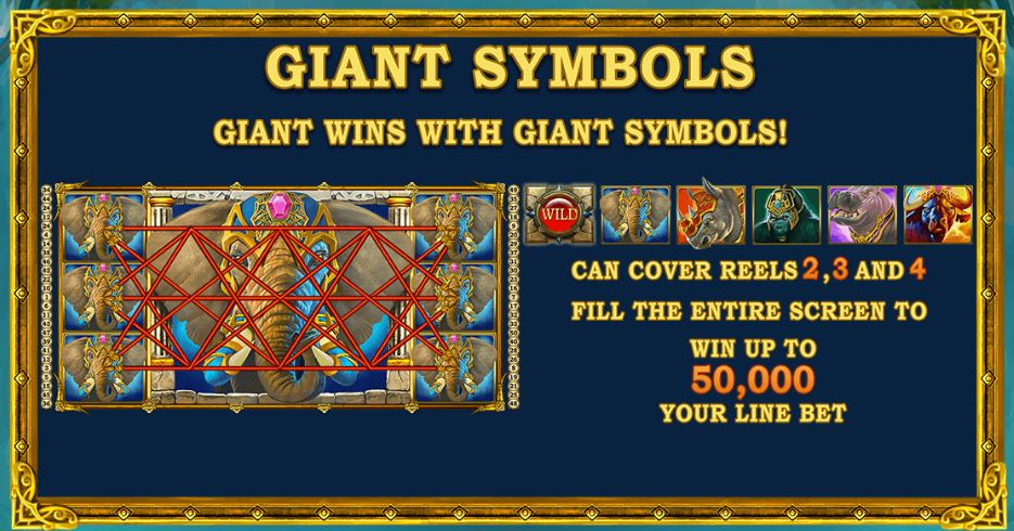 jungle giants store symboler